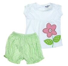 Oshkosh B'gosh One Flower Bloomer Set Baby Girl Clothes (GBOF-01), Size: 3 mos