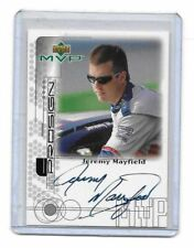1999 Upper Deck MVP ProSign SILVER Jeremy Mayfield AUTHENTIC AUTOGRAPH MUST SEE!