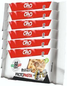 PASTA PROTEICA Ciao Carb ProtoPasta Tagliatelle 1000 gr  60% Proteine (10 x 100)