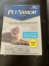 PetArmor Flea and Tick Squeeze on Cats and Kittens 8 weeks or over and 1.5 Lbs