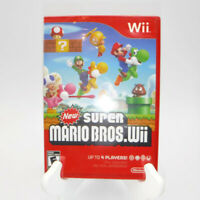 Nintendo Wii SUPER MARIO BROS. WII Video Game New & Sealed