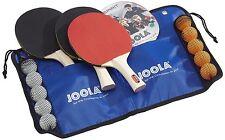 Original Tennis und Bälle JOOLA Tischtennis-Set Family Beste Schläger NEU