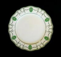 Beautiful Royal Doulton Countess Green Rim Lunch Plate Circa 1920