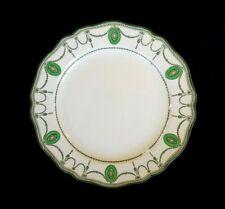 Beautiful Royal Doulton Countess Green Rim Lunch Plate Circa 1920