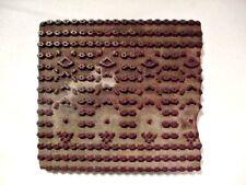 Vintage Wood Hand Carved Wallpaper Printing Stamp - Different!