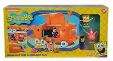 New Spongebob Squarepants Bikini Bottom Submarine Bus Playset With Sound