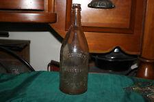 Antique The Clauss Bottling Co. Elizabeth NJ Clear Glass Soda Beer Bottle-EMPTY