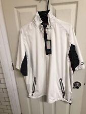 Mizuno Impermalite Waterproof Rain Jacket Top Lightweight Golf Coat Men Size L