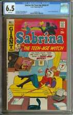SABRINA THE TEEN-AGE WITCH #1 CGC 6.5 WHITE PAGES