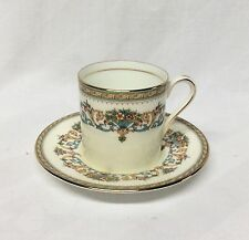 Aynsley Henley China Demitasse Cup & Saucer Green Mark