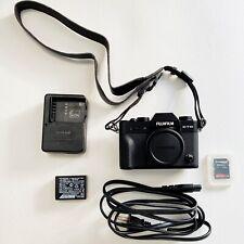 MINT Fuji Fujifilm X-T10 16.3MP Mirrorless Digital Camera Body
