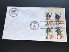 1975 American Revolution Bicentennial Era. First Day Of Issue Stamps