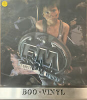 FM (UK ROCK GROUP) Tough It Out LP VINYL With Inner Sleeve EX / EX CON