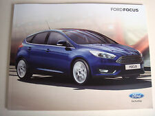 Ford . Focus . Ford Focus . July 2014 Sales Brochure