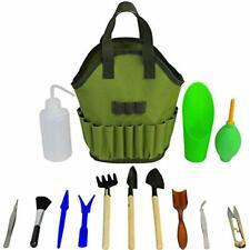 Succulent Kit Hand Tools Organizer Bag Gardening Set Terrarium Supplies Mini Zen