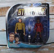New Diamond Select Toys Star Trek Original Series Captain Kirk & Lt Uhura Figure