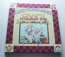 "Mary Engelbreit ""Crafts To Decorate Your Home"" Hardcover Book"
