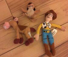 3 Kellogg's Tiny Disney Toys: Woody, Bullseye and Timon