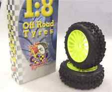Gomme Tire 1/8 BUGGY SP RACING EVO STAR PIN COMPETION A incollate SP08280 (1cp)