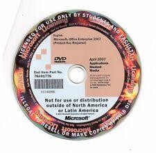 Microsoft Office Enterprise 2007  CD Software