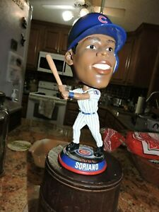 Chicago Cubs Alfonso Soriano Forever Collectible Fat Head Bobblehead