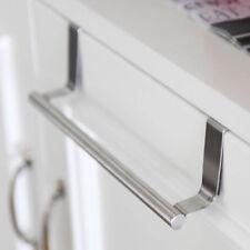 Over Door Towel Rack Bar Hanging Holder Bathroom Kitchen Cabinet Shelf Rack