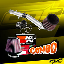 For 08-15 Scion xB 2.4L 4cyl Polish Cold Air Intake +  K&N Air Filter