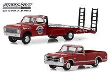 1:64 GreenLight *HD TRUCKS 14* 1971 Chevrolet C-30 RAMP TRUCK w/C10 Pickup NIP
