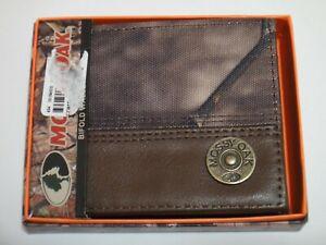 Mossy Oak Camo Wallet Color Brown