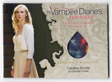 2016 Vampire Diaries Season 4 Candice Accola Caroline Forbes Wardrobe Card M03