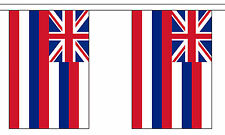 HAWAII U.S. STATE BUNTING 9 metres 30 flags Polyester flag