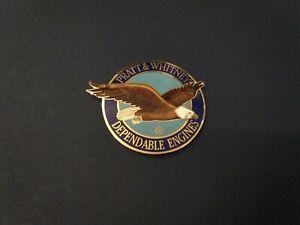 Pratt & Whitney Enamel Engine Badge