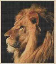 Majestic Lion Counted Cross Stitch COMPLETE KIT No. 2-208 KIT