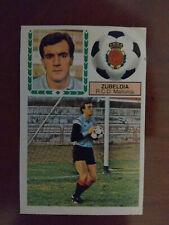 Cromo Zubeldia coloca liga 83 84 ediciones este temporada 1983 1984 fútbol