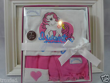 My Little Pony Infant Girls 3 Piece Outfit Gift Set 0-9 Months Hasbro Pink New