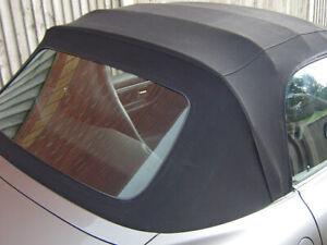 BMW Z3 cabriolet cabrio rear screen (1996- 2002)
