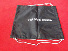 McLaren Honda Team Borsa per Palestra In Nero, Sport Shoe bag, Pull String.