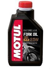 Motul Fork Oil Gabelöl FL Very Light 2.5W Motorrad Supersport Superbike MX SM