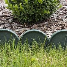 Plastik Garten Zaun Rasen Palisade Baumumrandung Beeteinfassung Rasenkante KRa_G