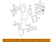 GM OEM Side Glass-Hinge Bearing 15005920