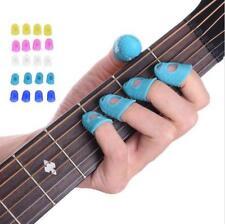 Guitar Thumb Finger Protector Silicone Fingertip Plectrum Guard Picks Cover Cap