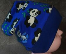 Mütze Doppelpack Panda und Zebra