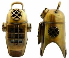 Nautical Decor Brass Vintage Scuba Divers Diving Helmet Morse Diving Helmet