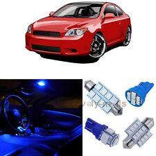 Blue Light SMD Car Blub Interior LED Package 9pcs  Kit for Scion tC 2005-2015