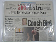 Vintage Newspaper Historical Sports Headline Coach Larry Bird 1997 THE INDY STAR