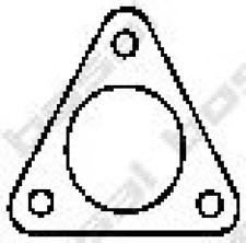 Dichtung, Abgasrohr für Abgasanlage BOSAL 256-021
