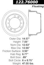 Preferred Rear,Front Centric 122.76001 Brake Drum-Premium Drum