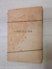 IL MURO DELL ODIO Ivo Senesi Nerbini 1942 libro romanzo narrativa racconto di