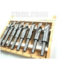 Toolzone Blacksmith 8pc 14 -25mm High Speed Steel (HSS) Twist Drill Set (Tool)