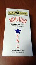 PREMIUM KODA FARMS MOCHIKO SWEET RICE FLOUR 16oz MOCHI FLOUR FREE SHIPPING NEW